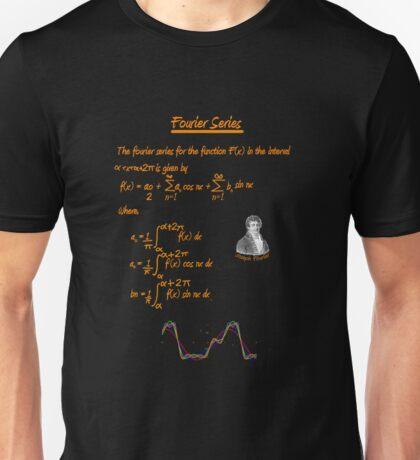 Joseph Fourier and Fourier Series Unisex T-Shirt