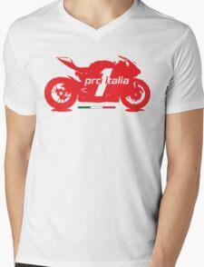 Pro Italia T-Shirt Mens V-Neck T-Shirt