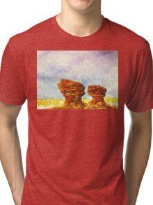CAPITOL REEF N.P. - UTAH Tri-blend T-Shirt