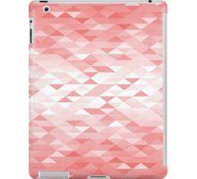 Triangle Glimmer (Red) iPad Case/Skin