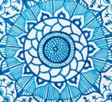 Blue Mandala Sticker