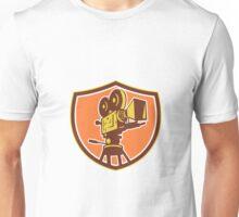 Vintage Film Camera Shield Retro Unisex T-Shirt