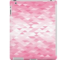 Triangle Glimmer (Pink) iPad Case/Skin