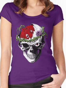 Berserk Skull Women's Fitted Scoop T-Shirt