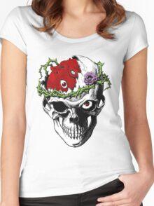 Berserk Skull Women's Fitted Scoop T-Shirt