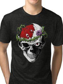 Berserk Skull Tri-blend T-Shirt