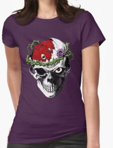 Berserk Skull Womens Fitted T-Shirt