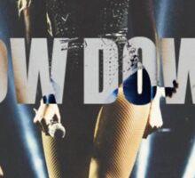 Bow down  Sticker