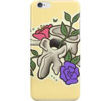 Flowery Vertebrae iPhone Case/Skin