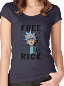 Free Rick Women's Fitted Scoop T-Shirt