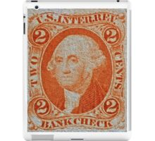 """""""1864 Internal Revenue Two-Cent Stamp"""" iPad Case/Skin"""