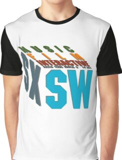 SXSW The Big Sleep 2012 Graphic T-Shirt
