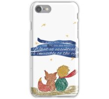What is essential is invisible to the eye iPhone Case/Skin