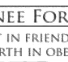 Pawnee Forever Sticker