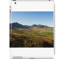 McGillycuddy Reeks from Strickeen Mt. iPad Case/Skin
