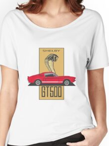 Shelby GT500 '1967 (red) Women's Relaxed Fit T-Shirt