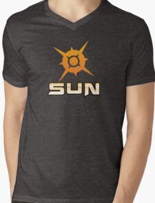 Pokemon Sun Mens V-Neck T-Shirt