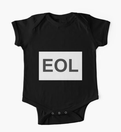 EOL End Of Life One Piece - Short Sleeve