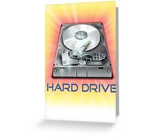 Hard Drive Greeting Card