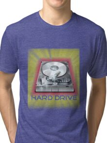 Hard Drive Tri-blend T-Shirt