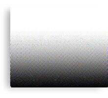 Distorted Pixels Canvas Print