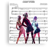 Heathers- Candy Store Canvas Print