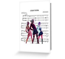 Heathers- Candy Store Greeting Card