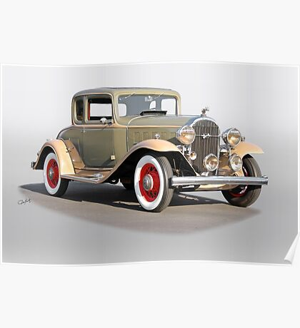 1932 Buick 96 S Coupe '3Q Pass Side' Poster