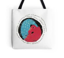 Horse International Languages Colorful design Tote Bag