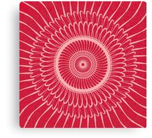 Red Reality Canvas Print