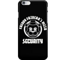 Freddy Fazbear's Pizza Security iPhone Case/Skin