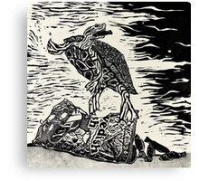 Hunting Swedish Fish Canvas Print