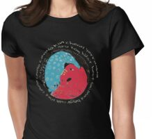 Horse International Languages Colorful design Womens Fitted T-Shirt