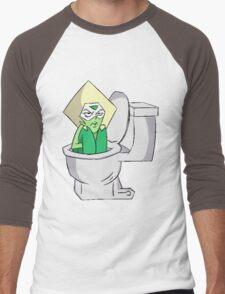 Peridot's Toilet Men's Baseball ¾ T-Shirt