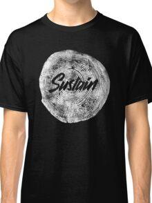 Sustain - White Nature Classic T-Shirt