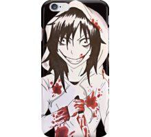 jeff the killer  iPhone Case/Skin