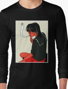 School Girl Long Sleeve T-Shirt