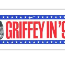 Ken Griffey Jr. bumper sticker Sticker