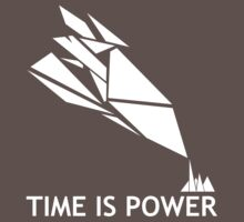 Time Is Power (Quantum Break Inspired Shirt) by techwiz