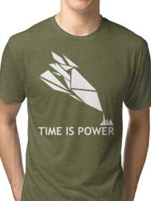 Time Is Power (Quantum Break Inspired Shirt) Tri-blend T-Shirt