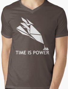 Time Is Power (Quantum Break Inspired Shirt) Mens V-Neck T-Shirt