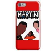 Martin (White) iPhone Case/Skin