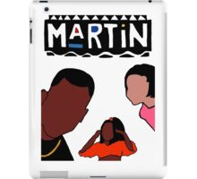 Martin (White) iPad Case/Skin