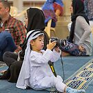 United Arab Emirates. Dubai. Jumeirah Mosque. Young Photographer from China. by vadim19