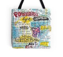 """Marianne Williamson Quote - """"Our deepest fear is not that we are inadequate"""" Tote Bag"""