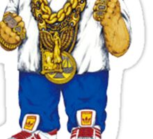 Gangster King Polo Bear Sticker