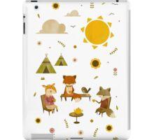 Woodland Animal Tea Party iPad Case/Skin