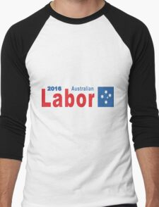 Australian Labor Party 2016 Logo Men's Baseball ¾ T-Shirt