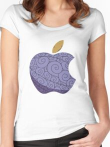 Gomu Gomu no Apple  Women's Fitted Scoop T-Shirt