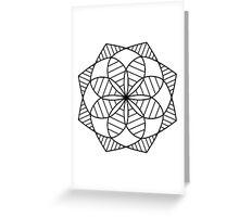Kaleidoscope Mandala Greeting Card